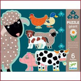 Djeco Giant puzzle Honoré en vriendjes