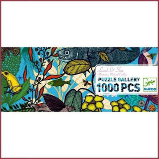 Djeco Gallery puzzel Land en Zee 1000st