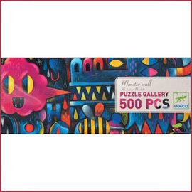 Djeco Gallery puzzel Monster Muur