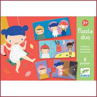 Djeco Duo Puzzel - emoties