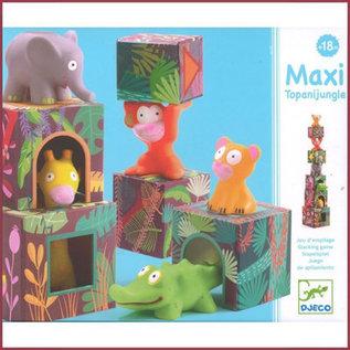Djeco Stapelblokken Maxi Topani jungle