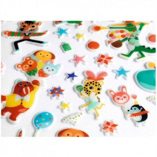 Djeco Puffy Stickers - Party
