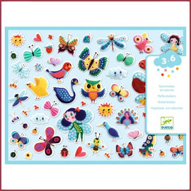 Djeco Puffy stickers  - Little wings