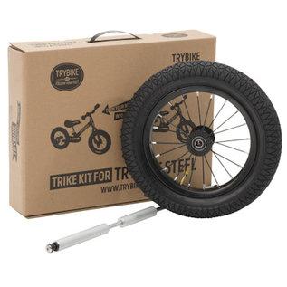 Trybike Trike Set voor Trybike van twee- naar driewieler voor Trybike steel