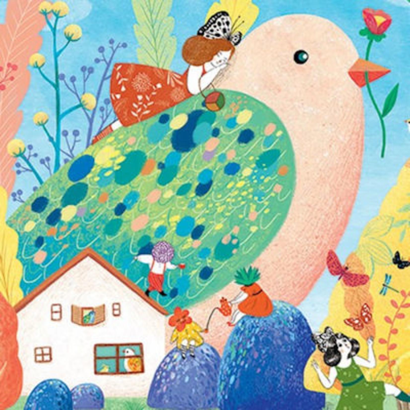 Djeco Gallerie Puzzel Miss Birdy 350st