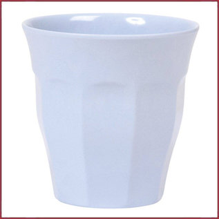 Rice Rice Melamine Cup in Soft Blue - Medium