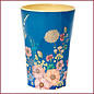 Rice Rice Melamine Cups met Flower Collage Print - Tall
