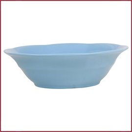 Rice Rice Melamine Soup Bowl in Turquoise