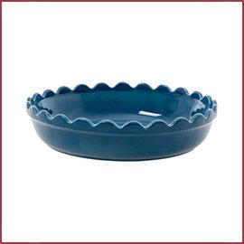 Rice Rice Stoneware Ovenschaal in Dark Blue - Small