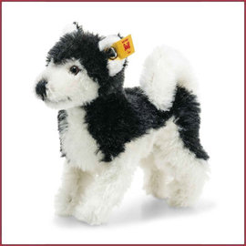 Steiff Wildlife Giftbox husky black/white