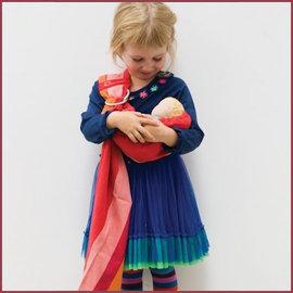 Babylonia Speelgoed draagdoek voor poppen
