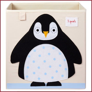3 Sprouts Opbergbox Pinguin