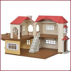 Sylvanian Families Country Home met rood dak