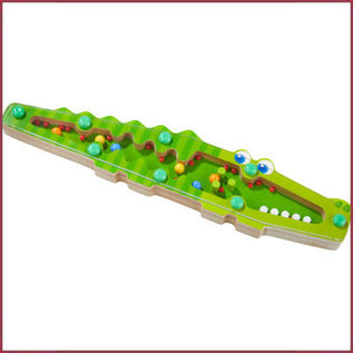 Haba Muziekinstument - Regenmaker Krokodil