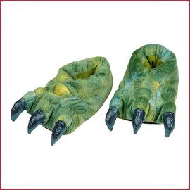 Souza for kids Sloffen Tyrannosaurus, groen, mt. 25-26-27