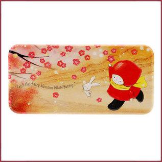 Santoro Poppi Loves Blikken pennendoosje Sakura