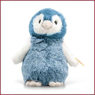 Steiff Soft Cuddly friend Paul Penguin, blauw 14cm
