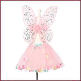 Souza for kids Elody, rok + vleugels, roze, verstelbaar
