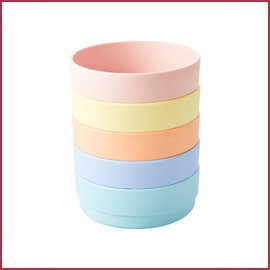 Rice Rice Natural Fibre Bowl in pastel