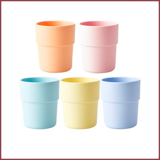 Rice Natural Fibre Cup in pastel
