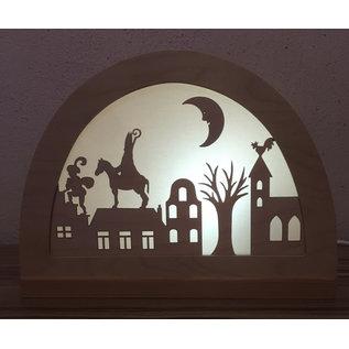 De Noest Silhouet Sinterklaas NW