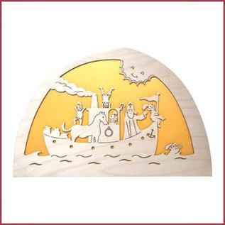 De Noest Silhouet De Stoomboot van Sint