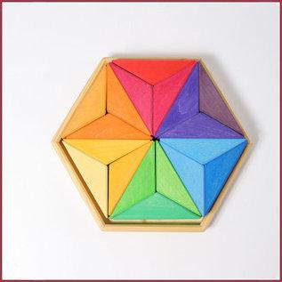 Grimm's Legpuzzel Complementaire kleuren Ster