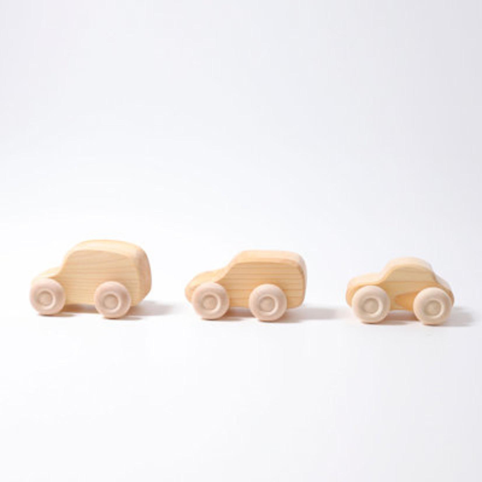 Grimm's Blank houten autootje