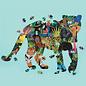 Mudpuppy Silhouet Puzzel Regenbos 300st