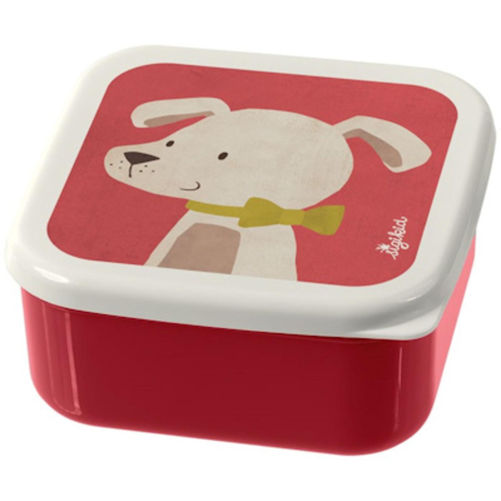 Sigikid Snackbox Little Forest Friends, Hond
