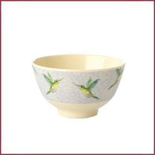 Rice Rice Bowl Small met Kolibri Print