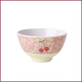 Rice Rice Bowl small met Bloemen en Kersen print
