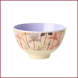 Rice Ricd Bowl Two Tone small met Iris Print