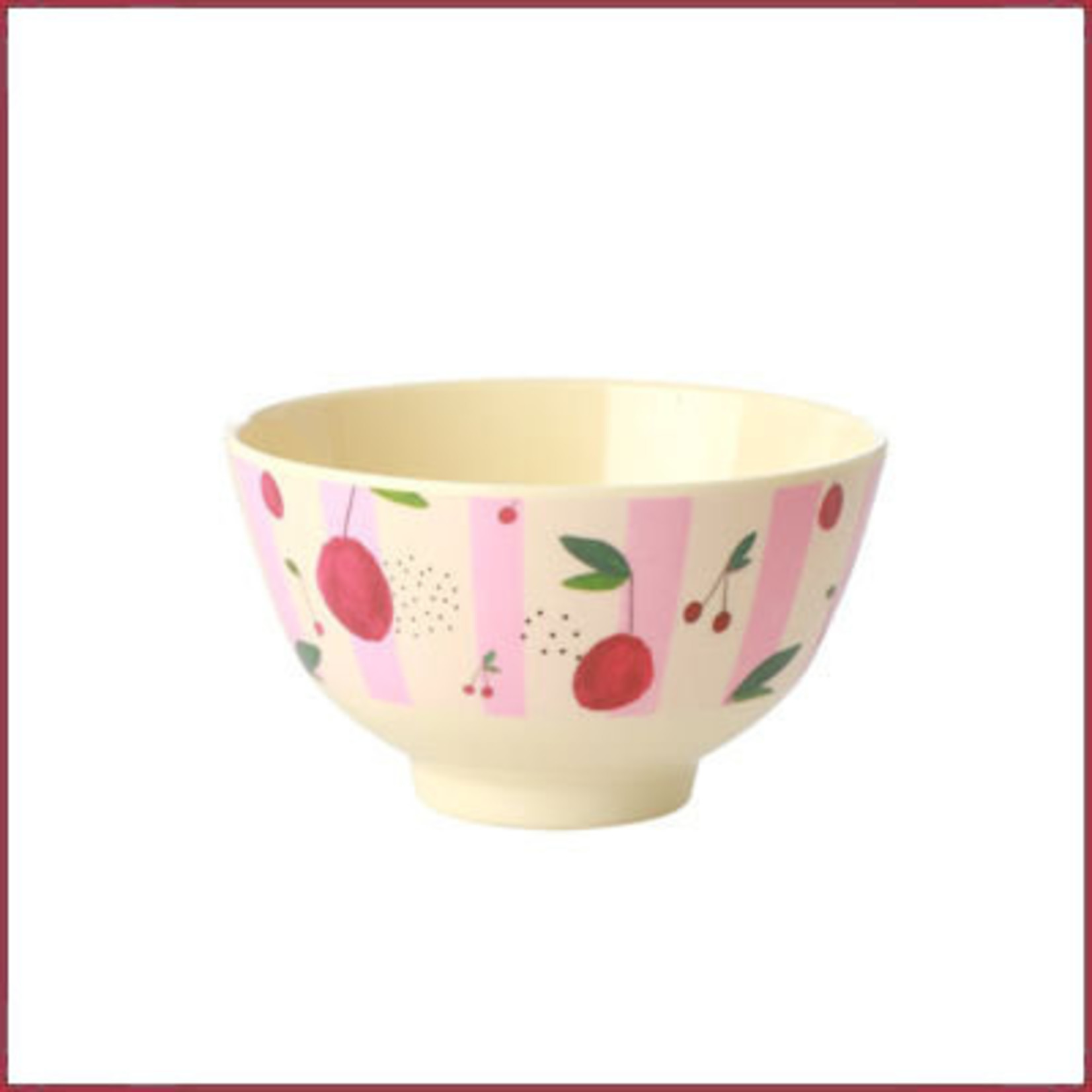 Rice Rice Bowl Small met Kersen Print