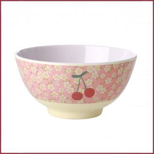 Rice Rice Bowl Two Tone Medium met Bloemen en Kersen print