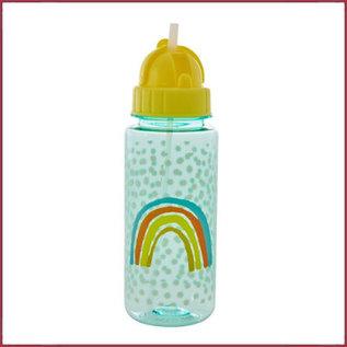 Rice Rice Plastic Kids Drinkbeker met rietje
