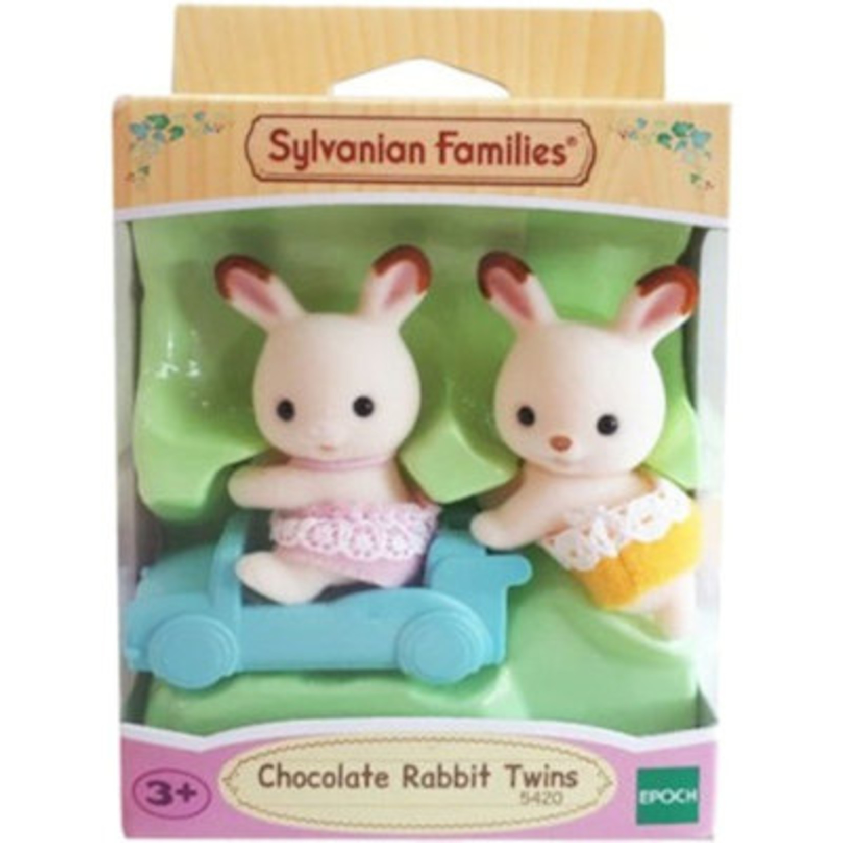 Sylvanian Families Tweeling Chocolade Konijn
