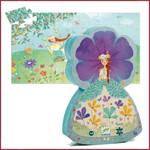 Djeco Silhouette Puzzel Prinses in de lente