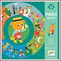 Djeco Giant Puzzel - het Jaar