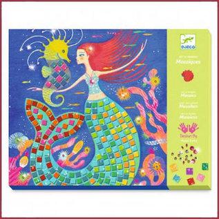 Djeco Mozaïk Knutselset - Het lied van de Zeemeermin