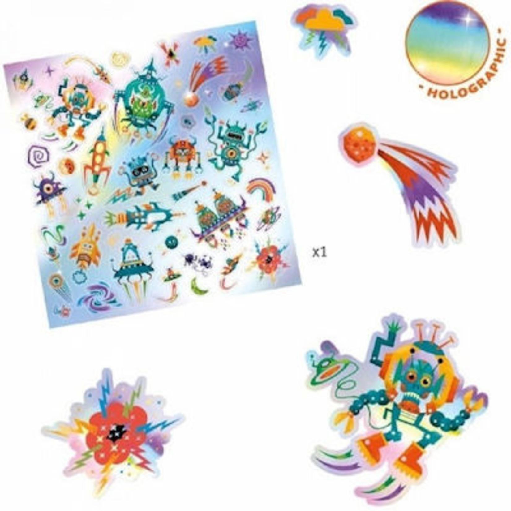 Djeco Stickers - Galaxy