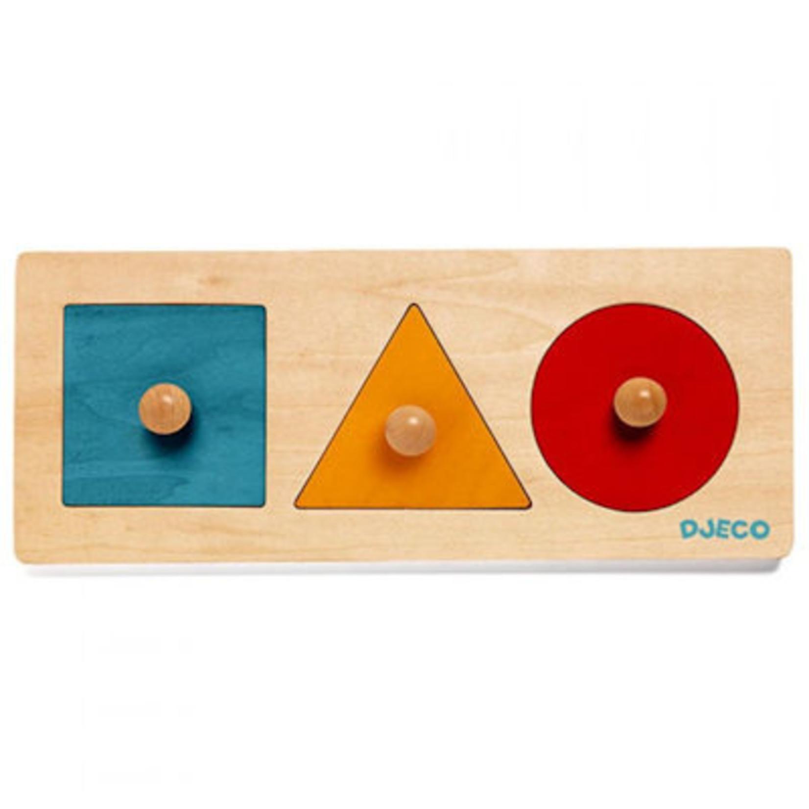Djeco Vormen puzzel Basic