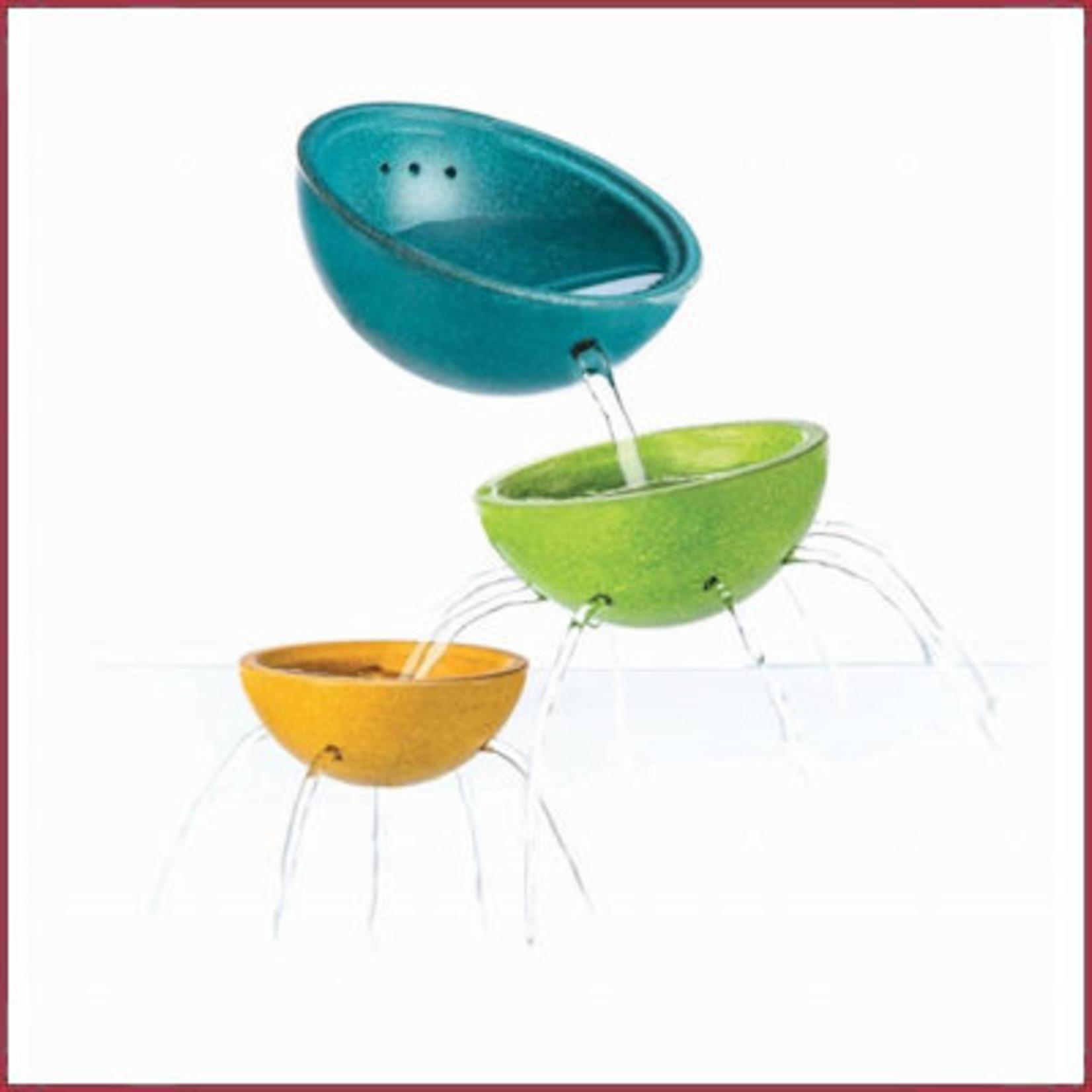Plantoys Plan Toys Houten Bad speelgoed Fountain Bowl Set