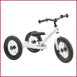 Trybike Trybike, steel driewieler wit, nieuwe kleur 2020