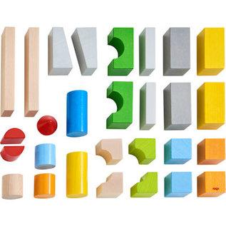 Haba Basispakket gekleurde bouwstenen