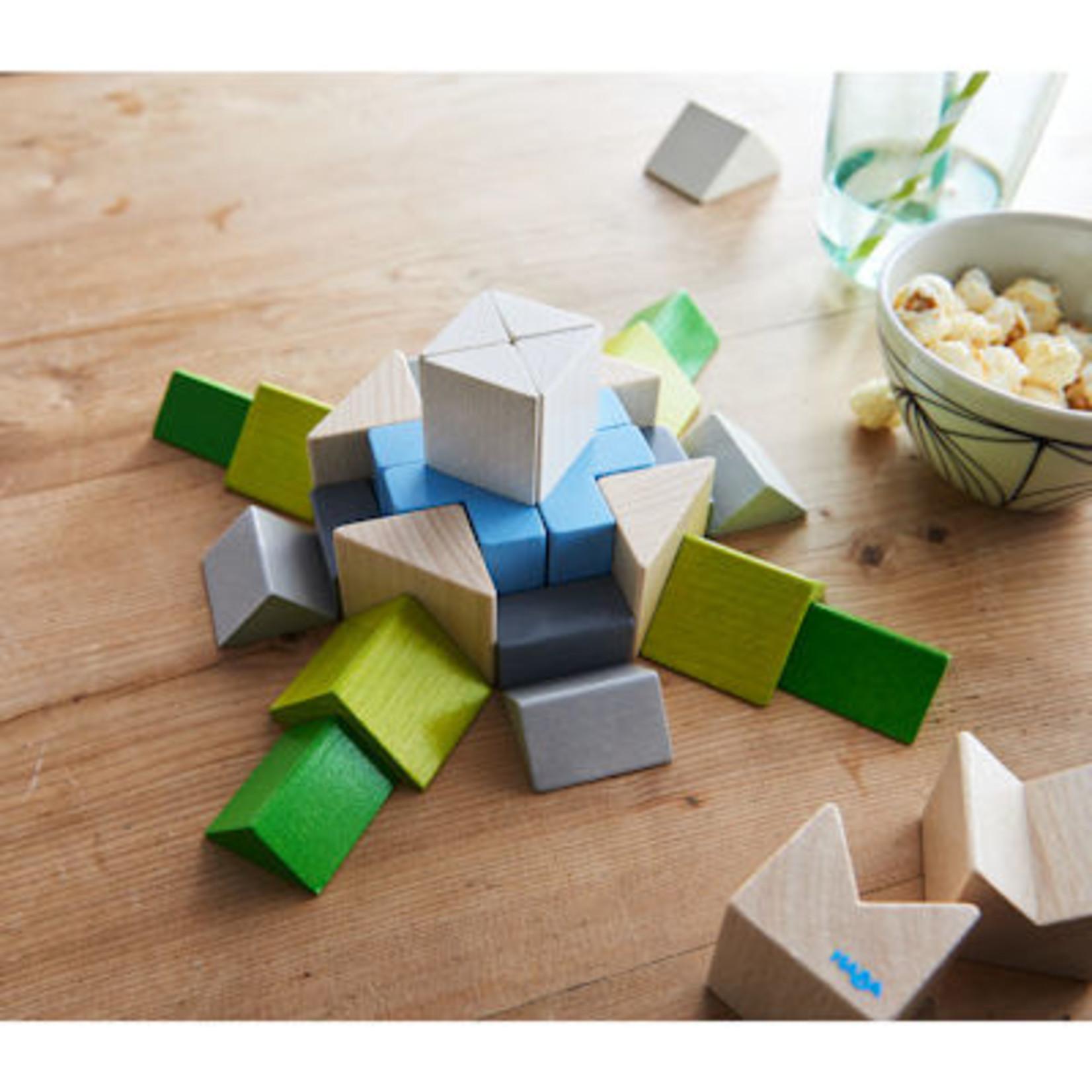 Haba 3D Compositie legspel Blokkenmozaïk Nordic