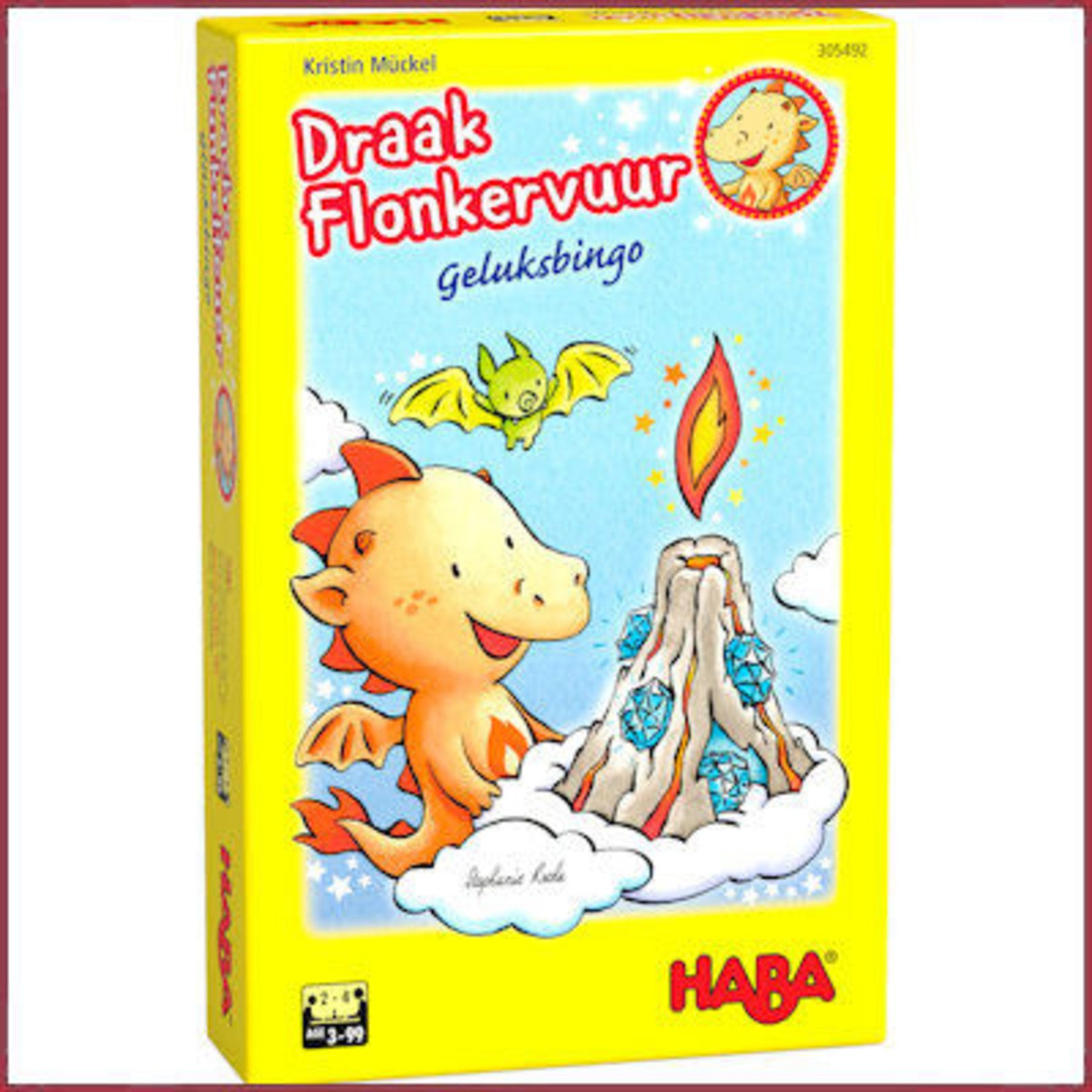 Haba Spel - Draak Flonkervuur geluksbingo