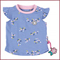 Sigikid T-shirt blauw met bloemetjes print