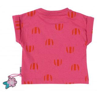 Sigikid T-shirt roze met wortel