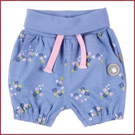 Sigikid Kort broekje  lichtblauw met bloemetjes print 62-86